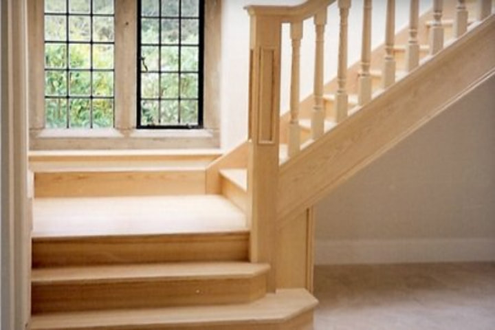 New stairing laid by DGM interiors