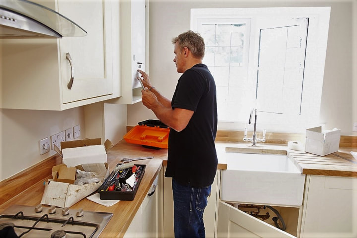 DGM kitchen fitting in swindon