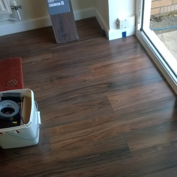 flooring fitted by DGM interiors