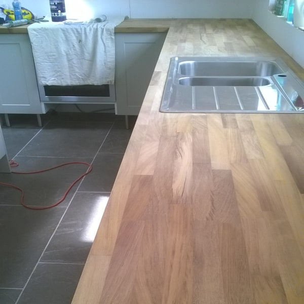 wooden kitchen top
