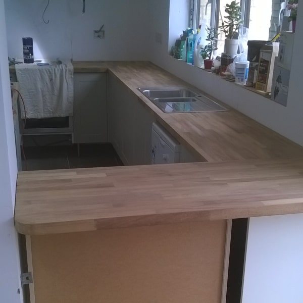 Kitchen fitting by DGM